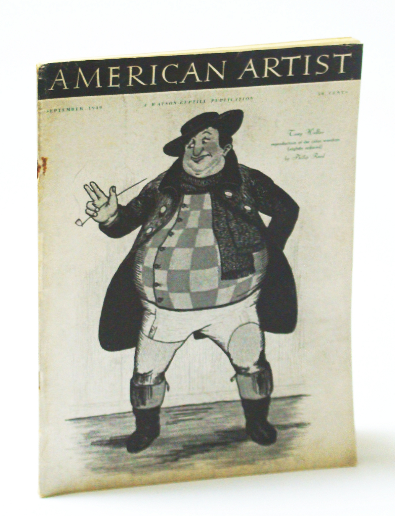 Image for American Artist Magazine, September (Sept.) 1949 - John Marin / Some Woodcuts By Philip Reed