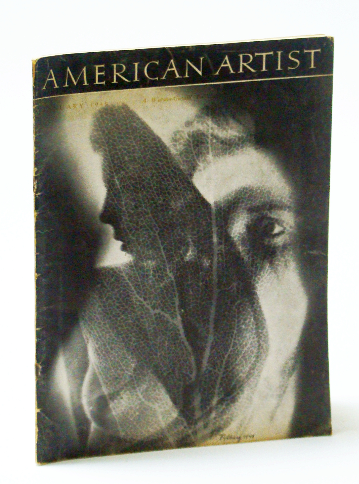 Image for American Artist Magazine, January (Jan.) 1949 - Eric Isenburger / John Groth