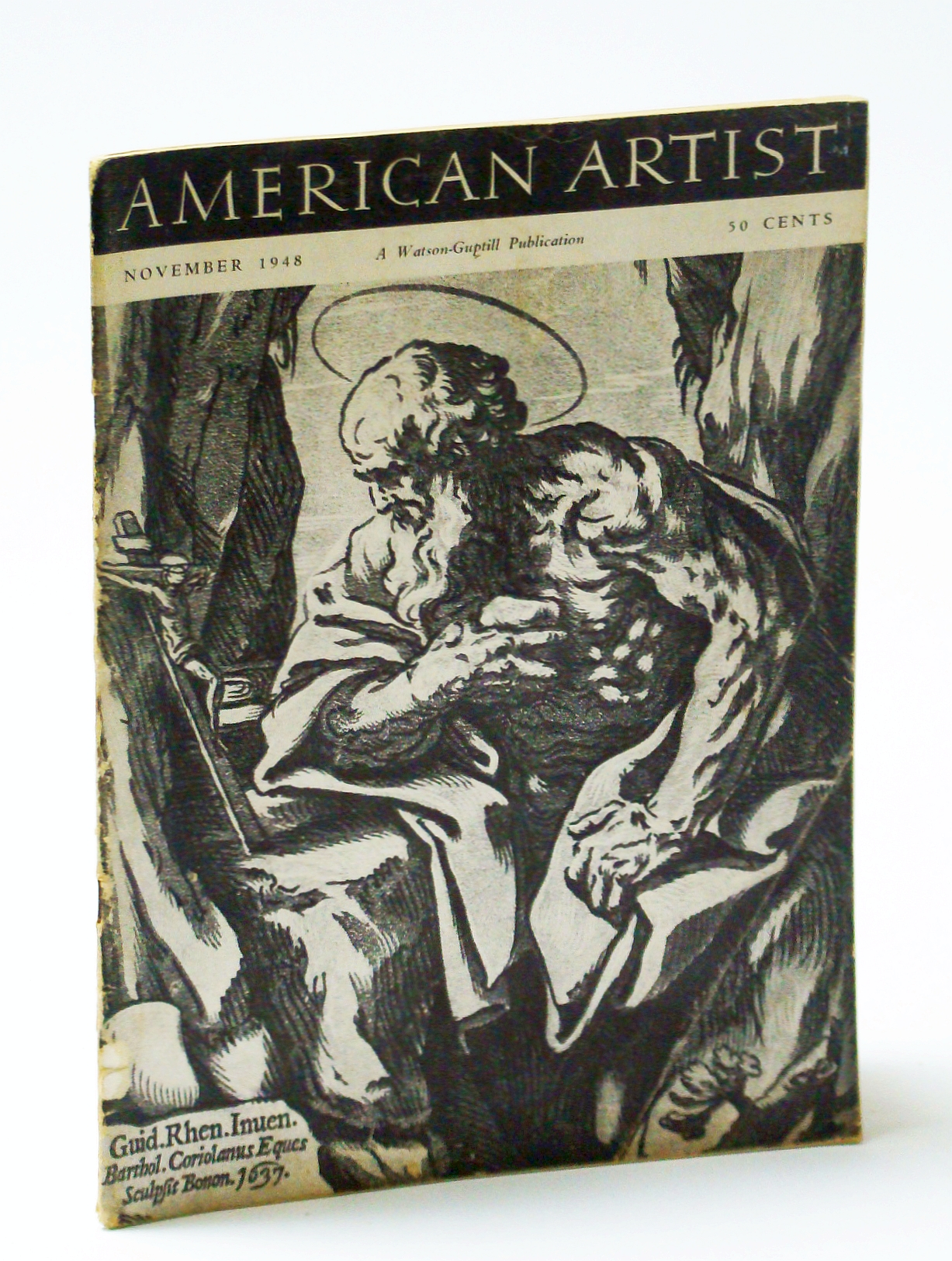 Image for American Artist Magazine, November (Nov.) 48 - Marcile Stalter / Richard Peter Hoffman
