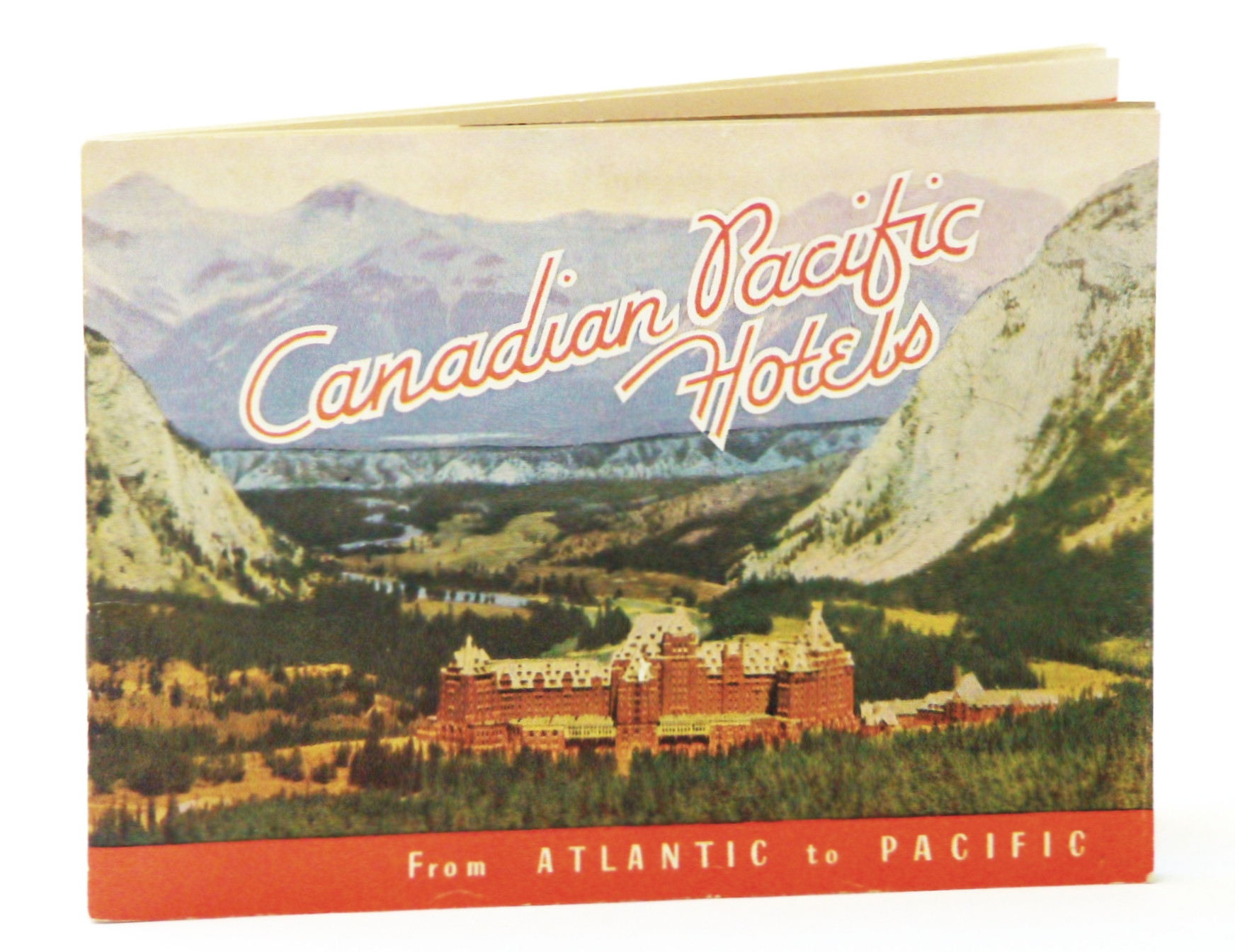 Image for Canadian Pacific Hotels - From Atlantic to Pacific: Promotional Booklet