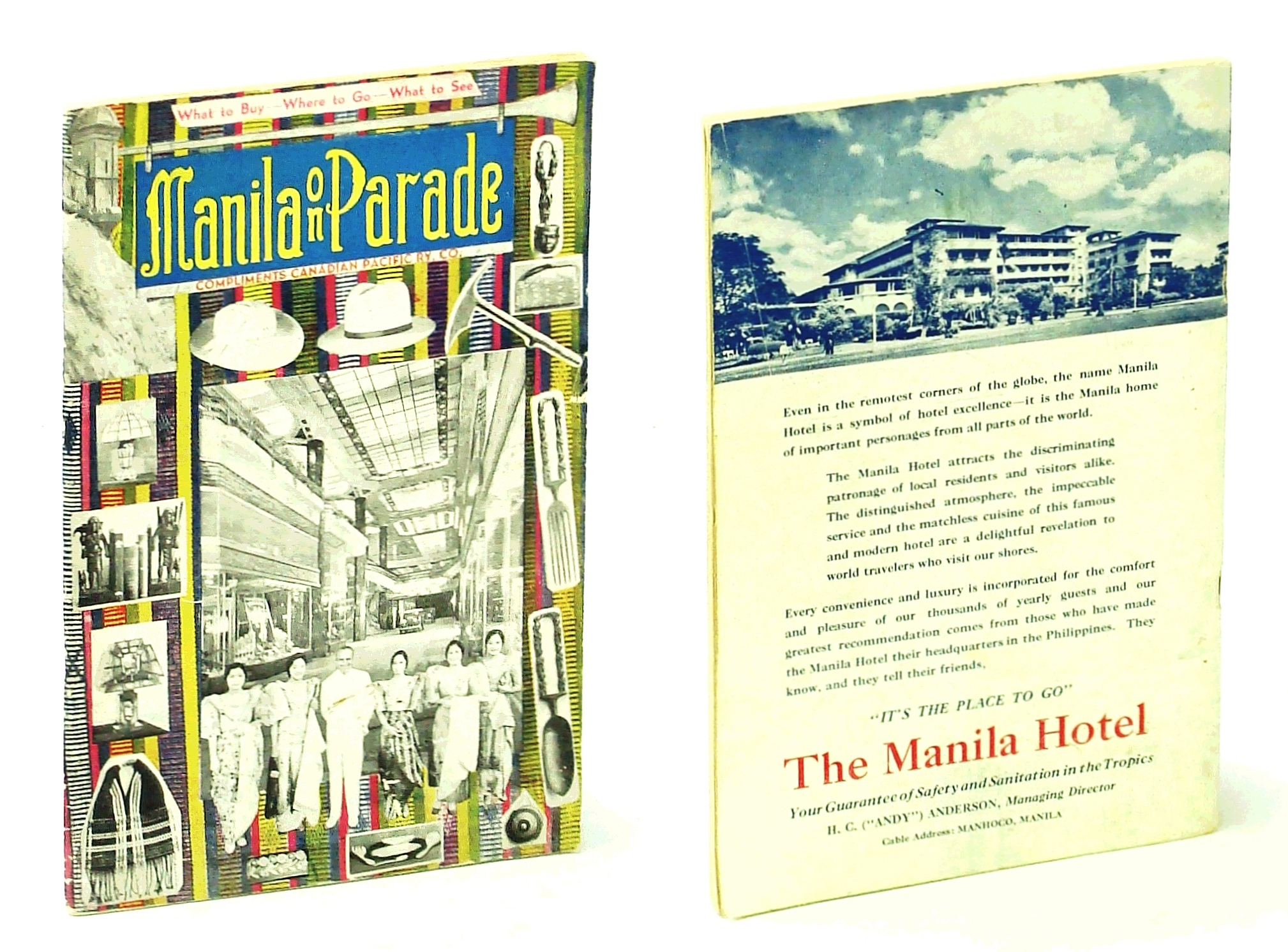 Image for Manila on Parade - What to Buy, Where to Go, What to See: Compliments of the Canadian Pacific Ry. Co.