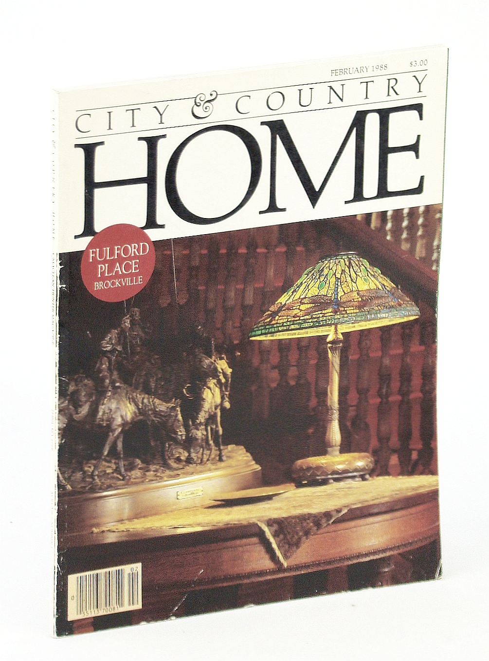 Image for City & Country Home Magazine, February [Feb.] 1988 - Fulford Place, Brockville
