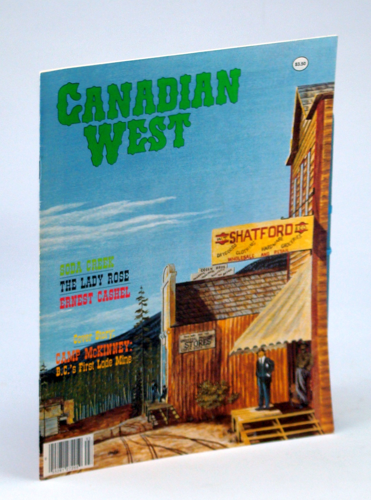 Image for Canadian West Magazine - Fall 1989