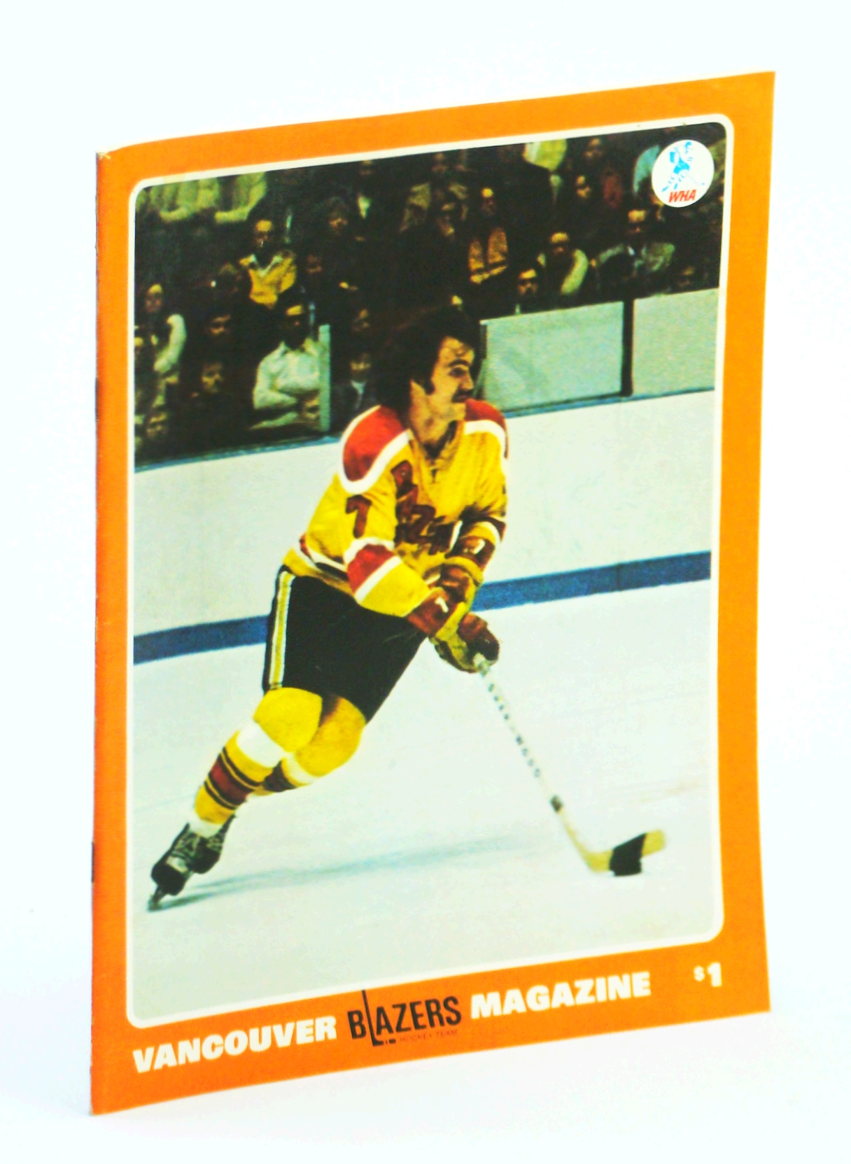 Image for Vancouver Blazers Magazine, Volume II, Issue No. 30, March 5, 1975 : Cover Photo of Ron Chipperfield