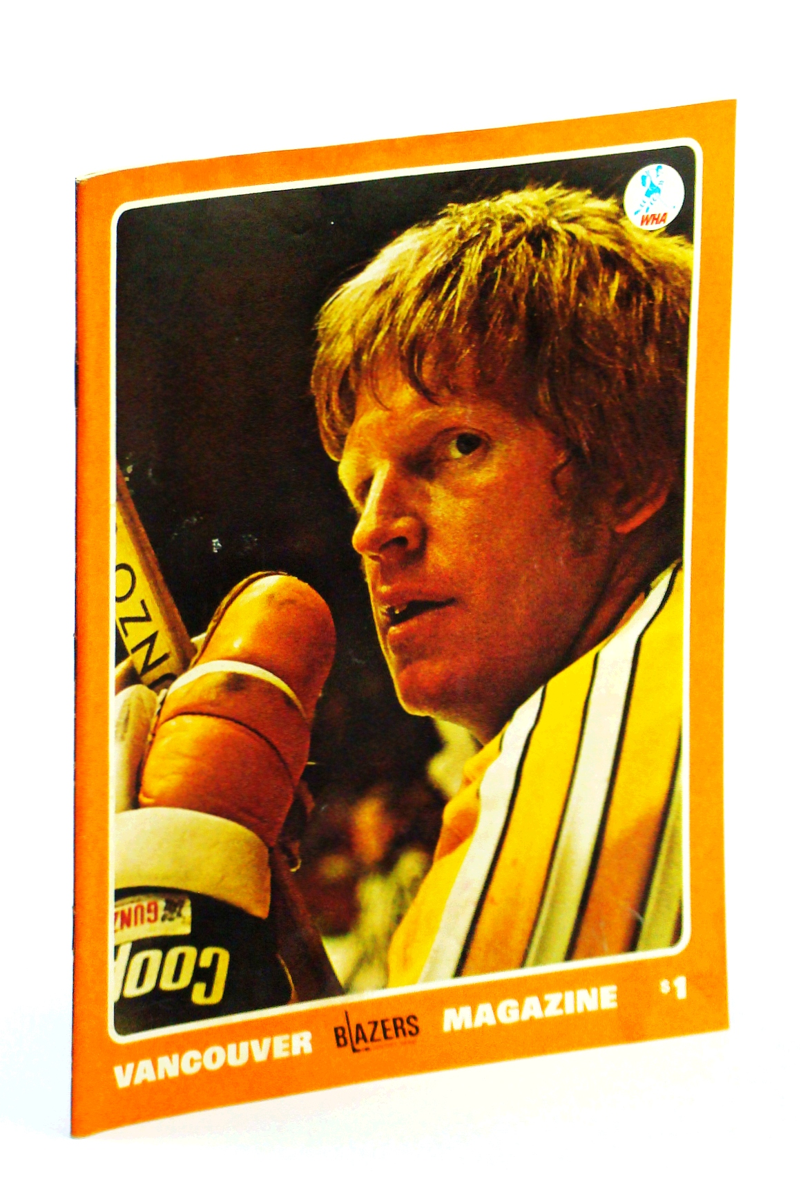 Image for Vancouver Blazers Magazine, Volume II, Issue No. 25, February 5, 1975 : Cover Photo of Pat Stapleton