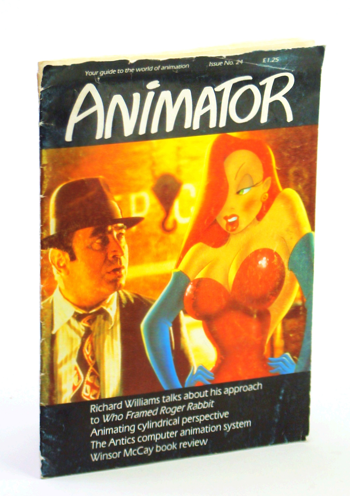 """Image for Animator [Magazine] - Your Guide to the World of Animation, Issue No. 24, December 1988 - Richard Williams and """"Who Framed Roger Rabbit"""""""
