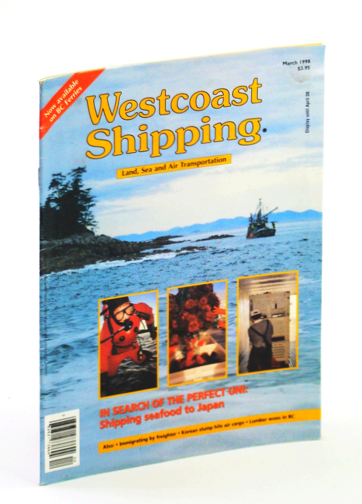 Image for Westcoast Shipping [Magazine] - Land, Sea, Air Transportation, March 1998