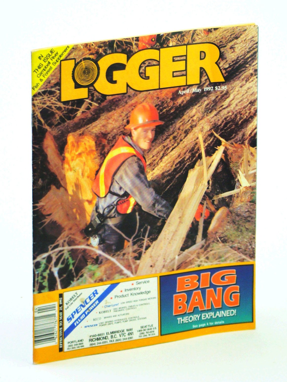 Image for The Westcoast Logger [Magazine], April / May 1992 - Special Campbell River Supplement