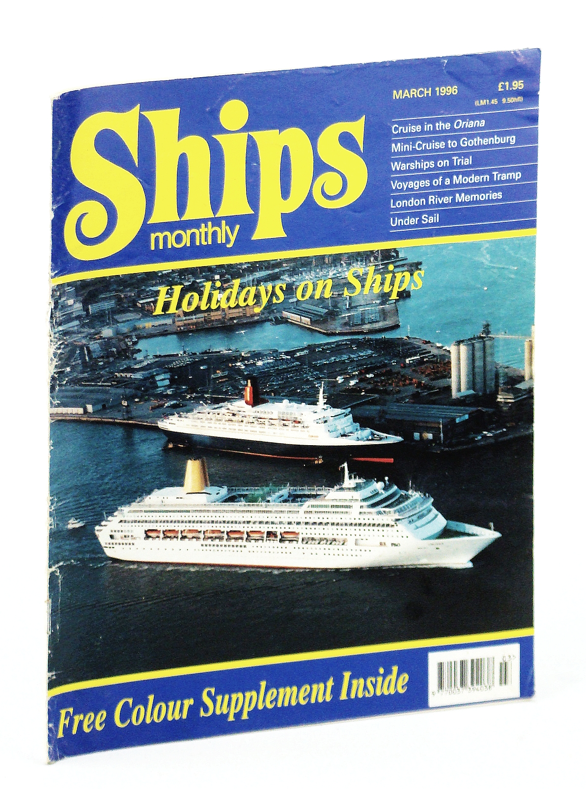 Image for Ships Monthly - The International Magazine for Shiplovers Ashore and Afloat: March 1996