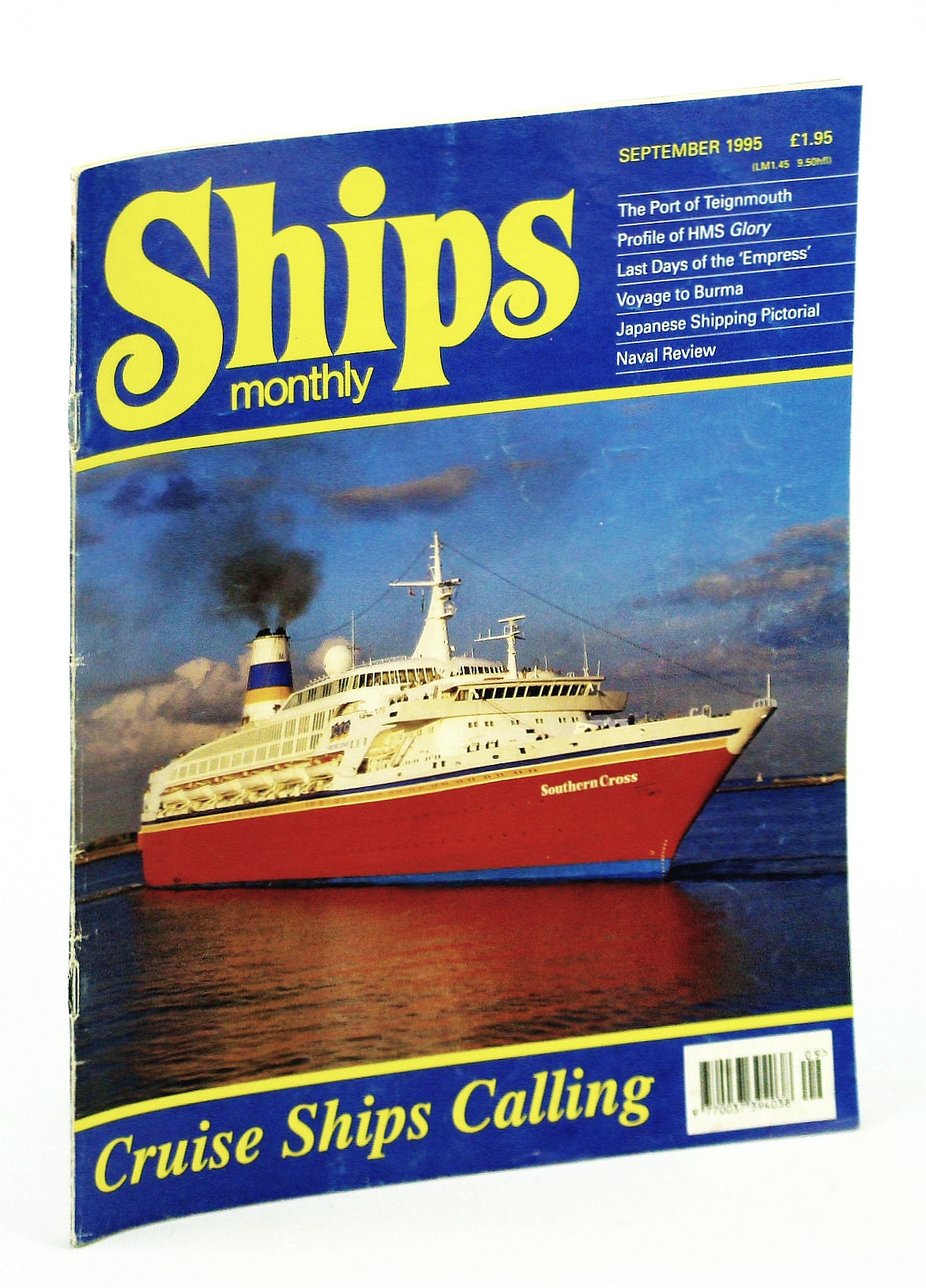 Image for Ships Monthly - The International Magazine for Shiplovers Ashore and Afloat: September 1995
