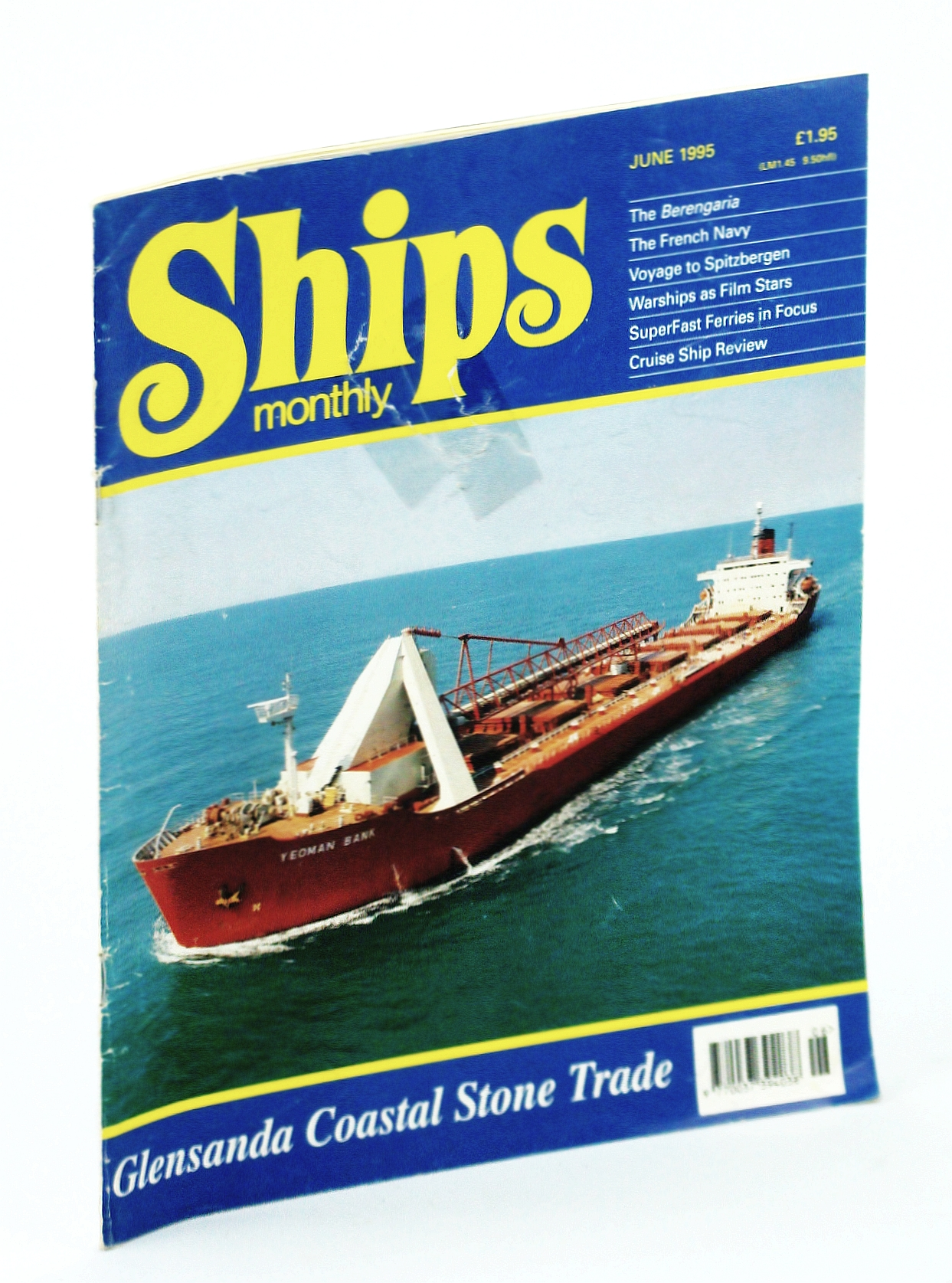 Image for Ships Monthly - The International Magazine for Shiplovers Ashore and Afloat: June 1995