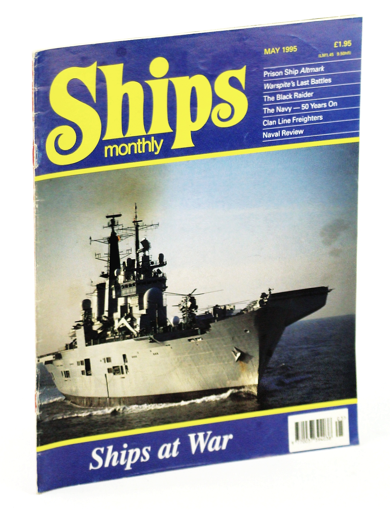 Image for Ships Monthly - The International Magazine for Shiplovers Ashore and Afloat: May 1995