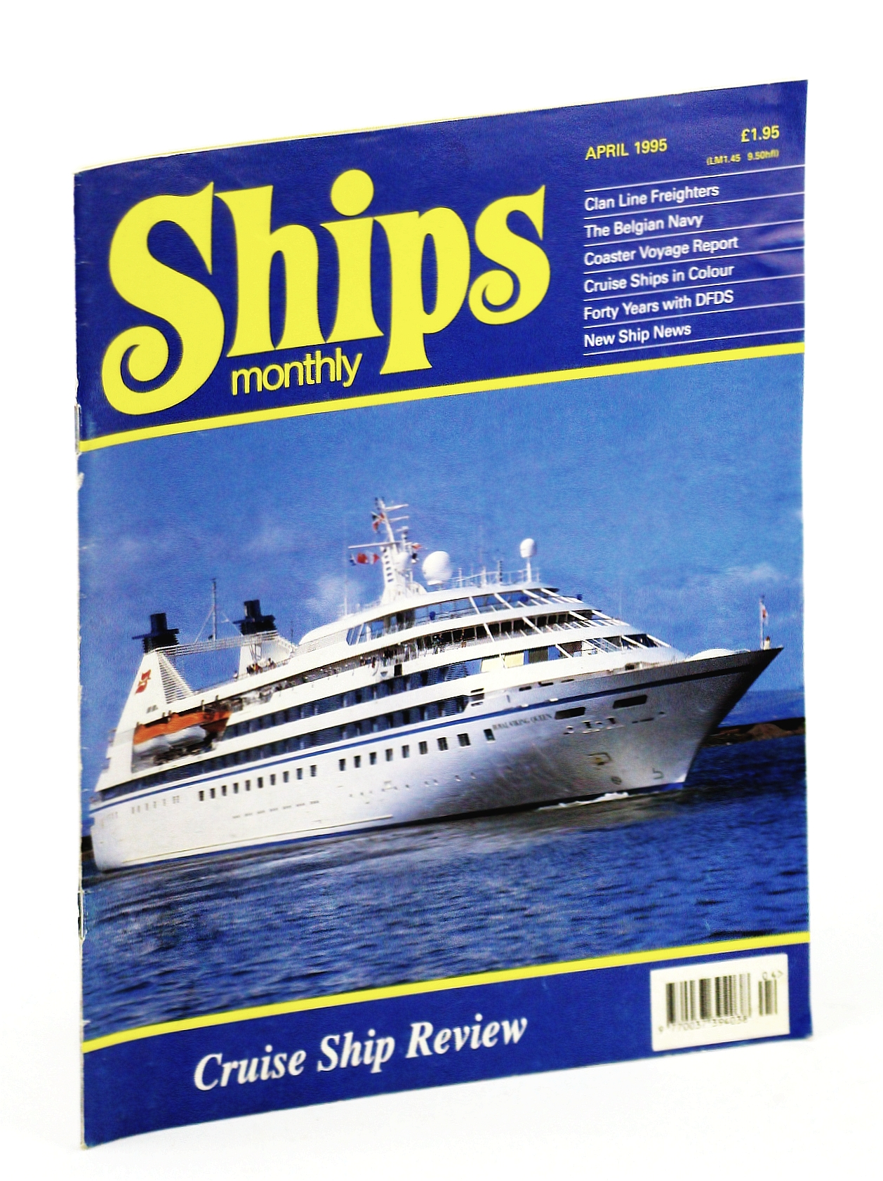 Image for Ships Monthly - The International Magazine for Shiplovers Ashore and Afloat: April 1995