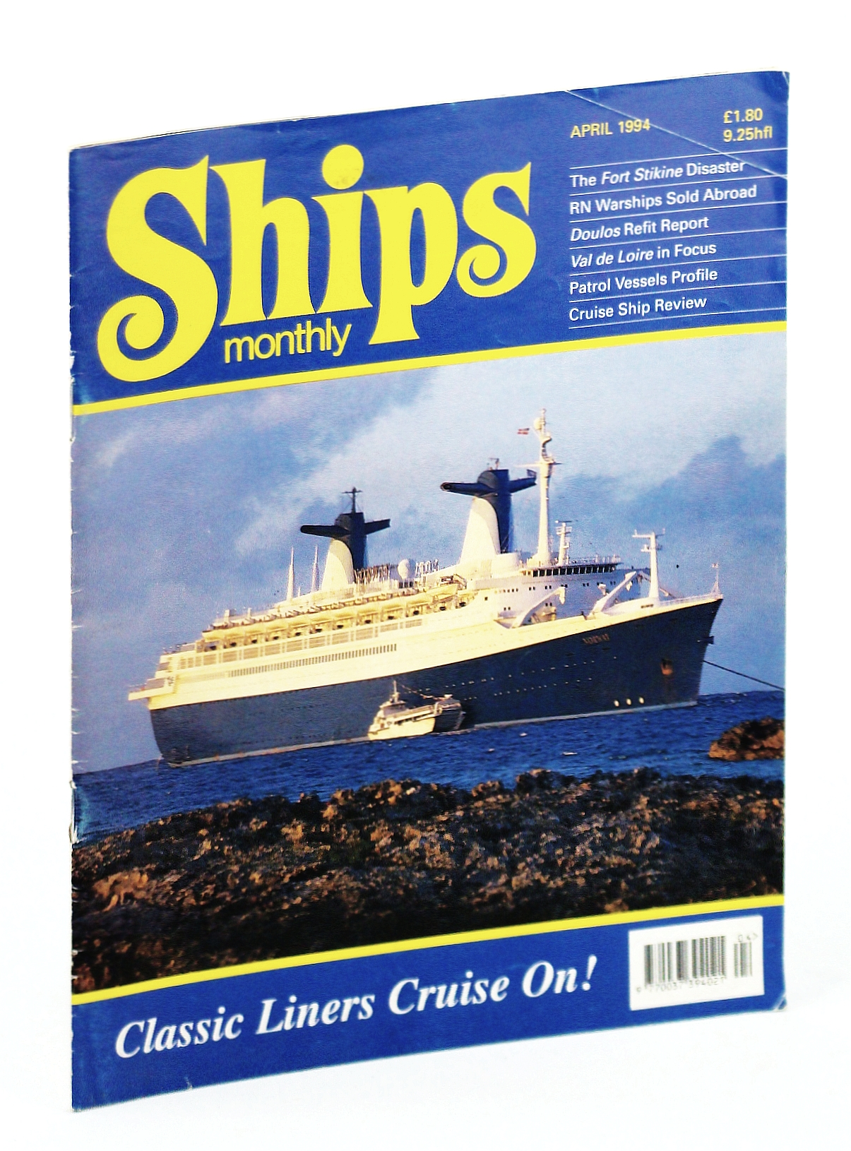 Image for Ships Monthly - The International Magazine for Shiplovers Ashore and Afloat: April 1994