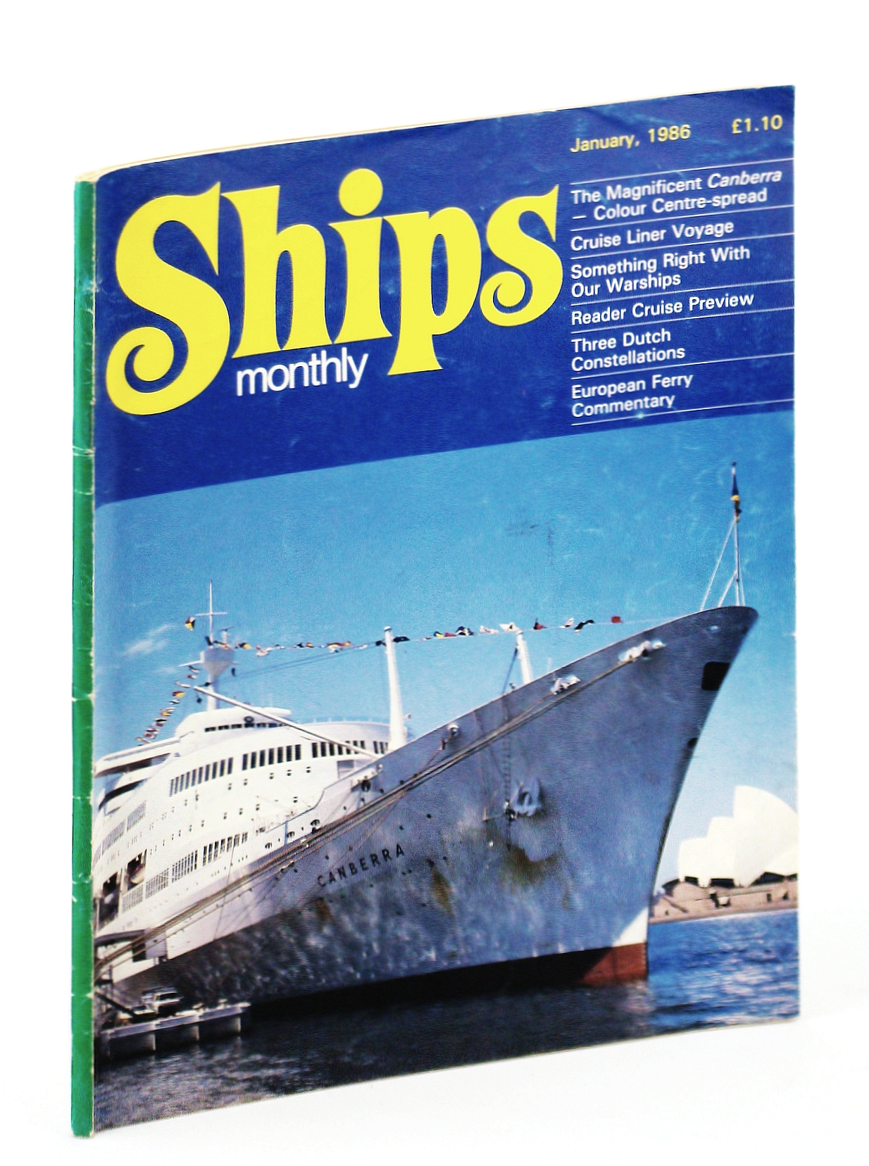 Image for Ships Monthly - The International Magazine for Shiplovers Ashore and Afloat: Janurary 1986