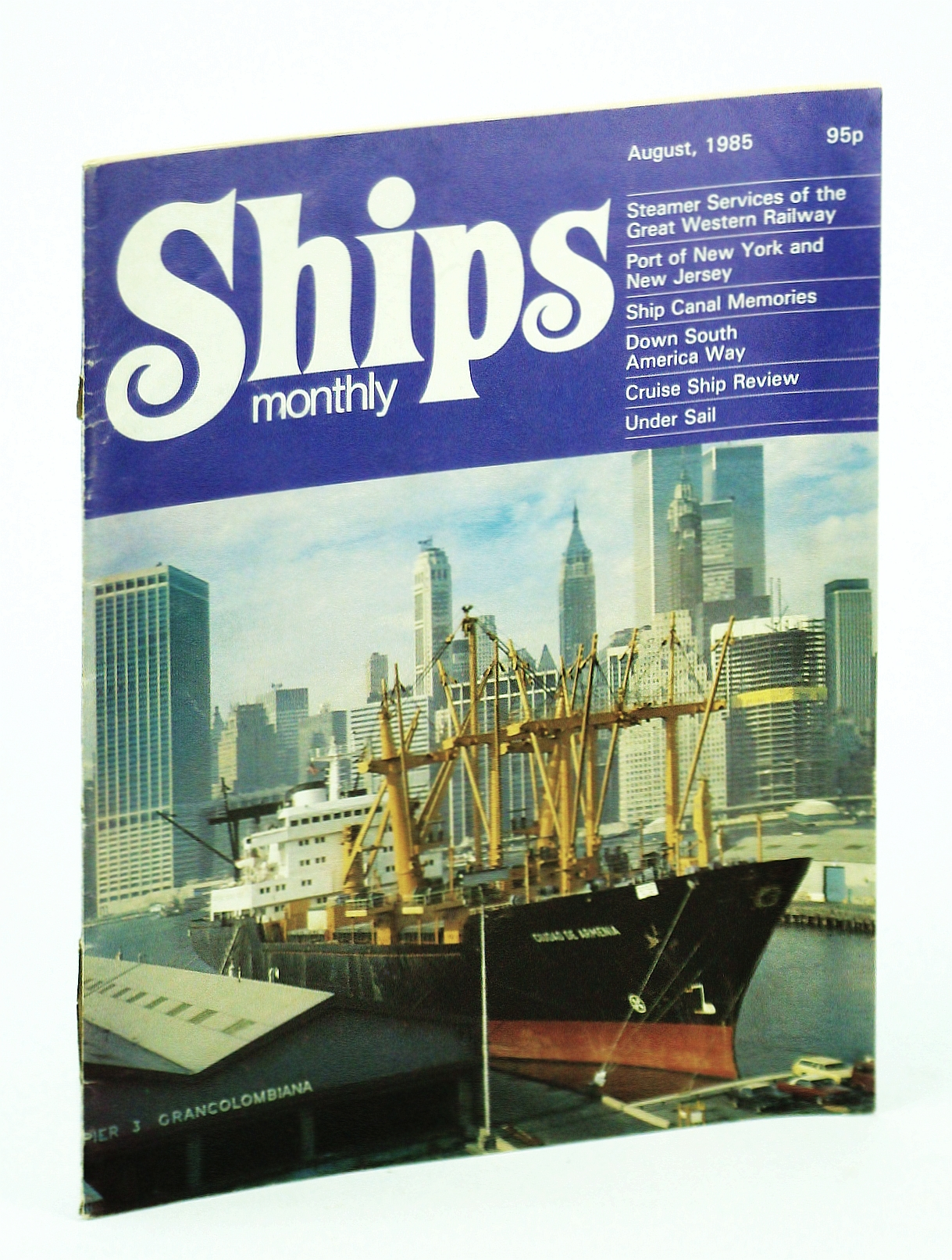 Image for Ships Monthly - The Magazine for Shiplovers Ashore and Afloat, August 1985 - Shipping Services of the Great Western Railway