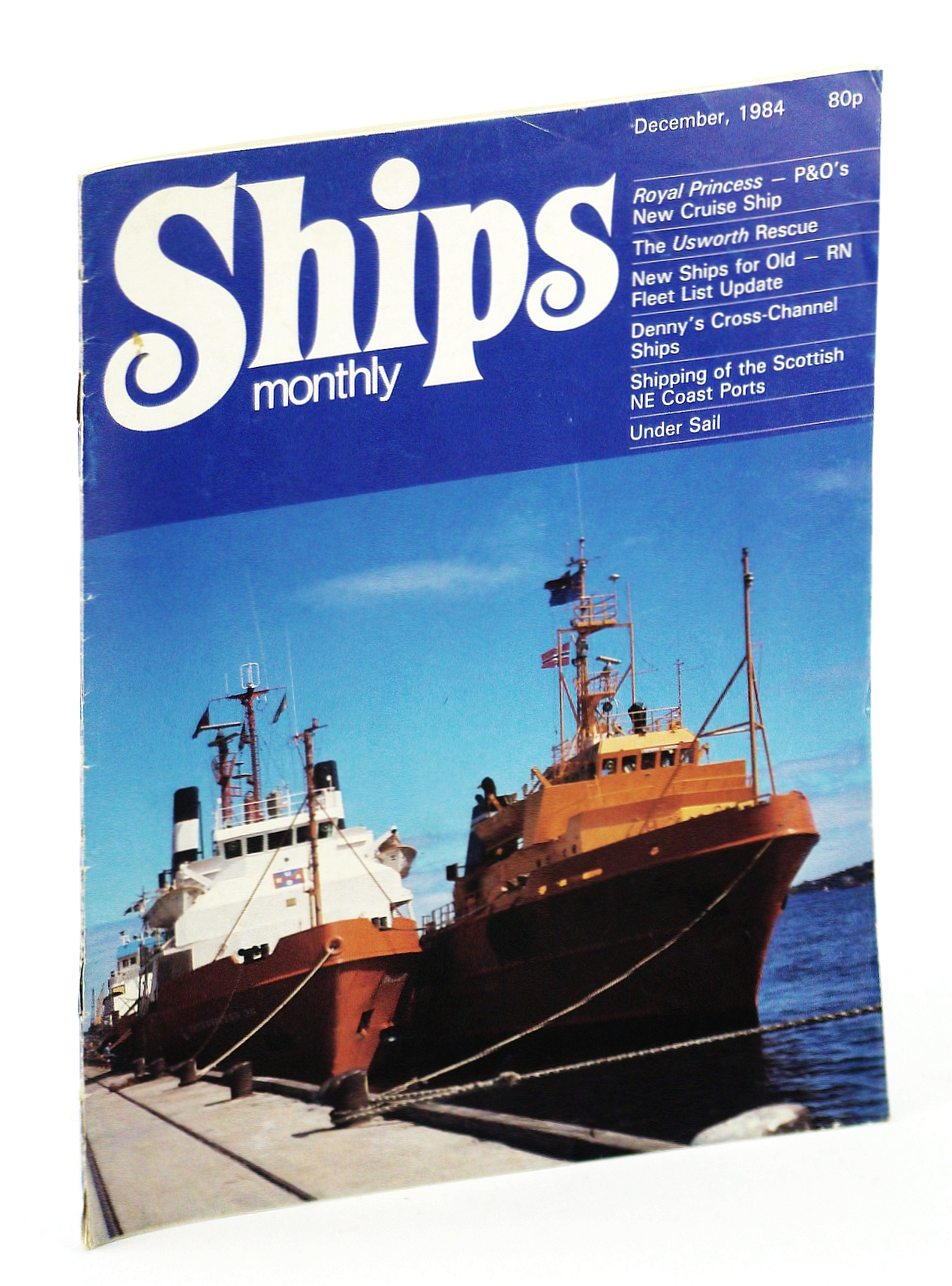 """Image for Ships Monthly - The Magazine for Shiplovers Ashore and Afloat, December 1984 - Construction of the """"Royal Princess"""""""
