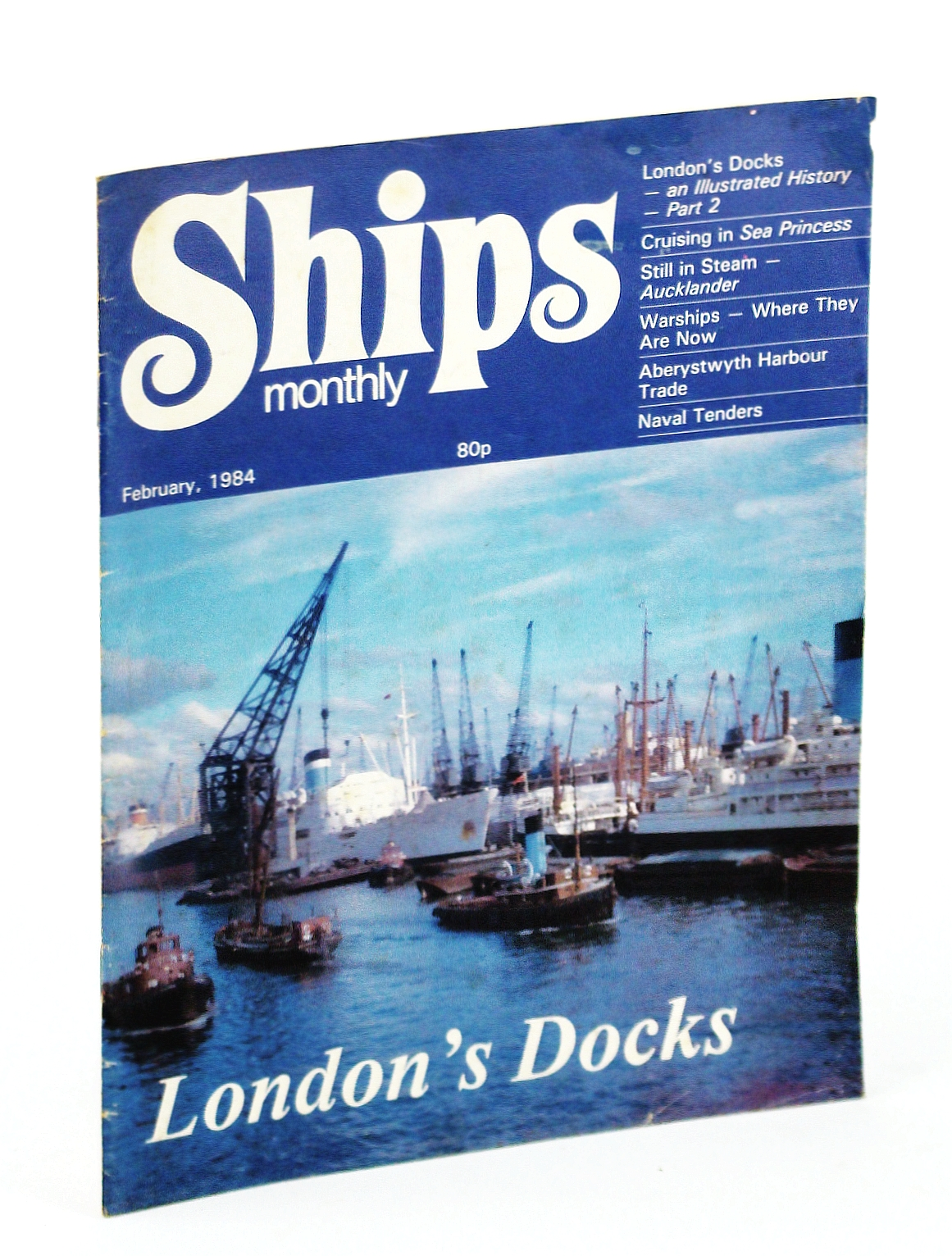 Image for Ships Monthly - The Magazine for Shiplovers Ashore and Afloat, February 1984 - Aberystwyth Harbour Trade