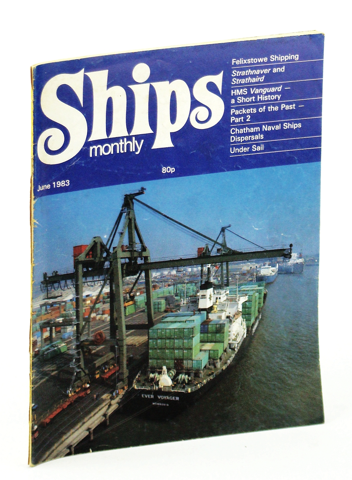 Image for Ships Monthly - The Magazine for Shiplovers Ashore and Afloat, June 1983 - HMS Vanguard