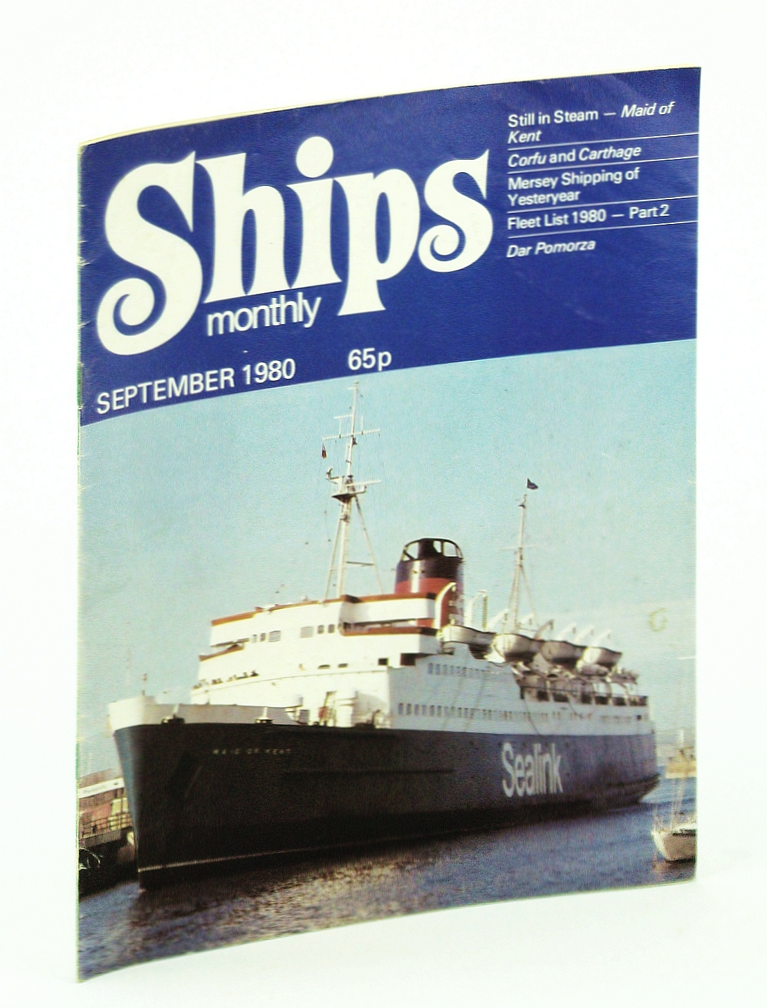Image for Ships Monthly - The Magazine for Shiplovers Ashore and Afloat, September 1980 - Mersey Shipping of Yesteryear