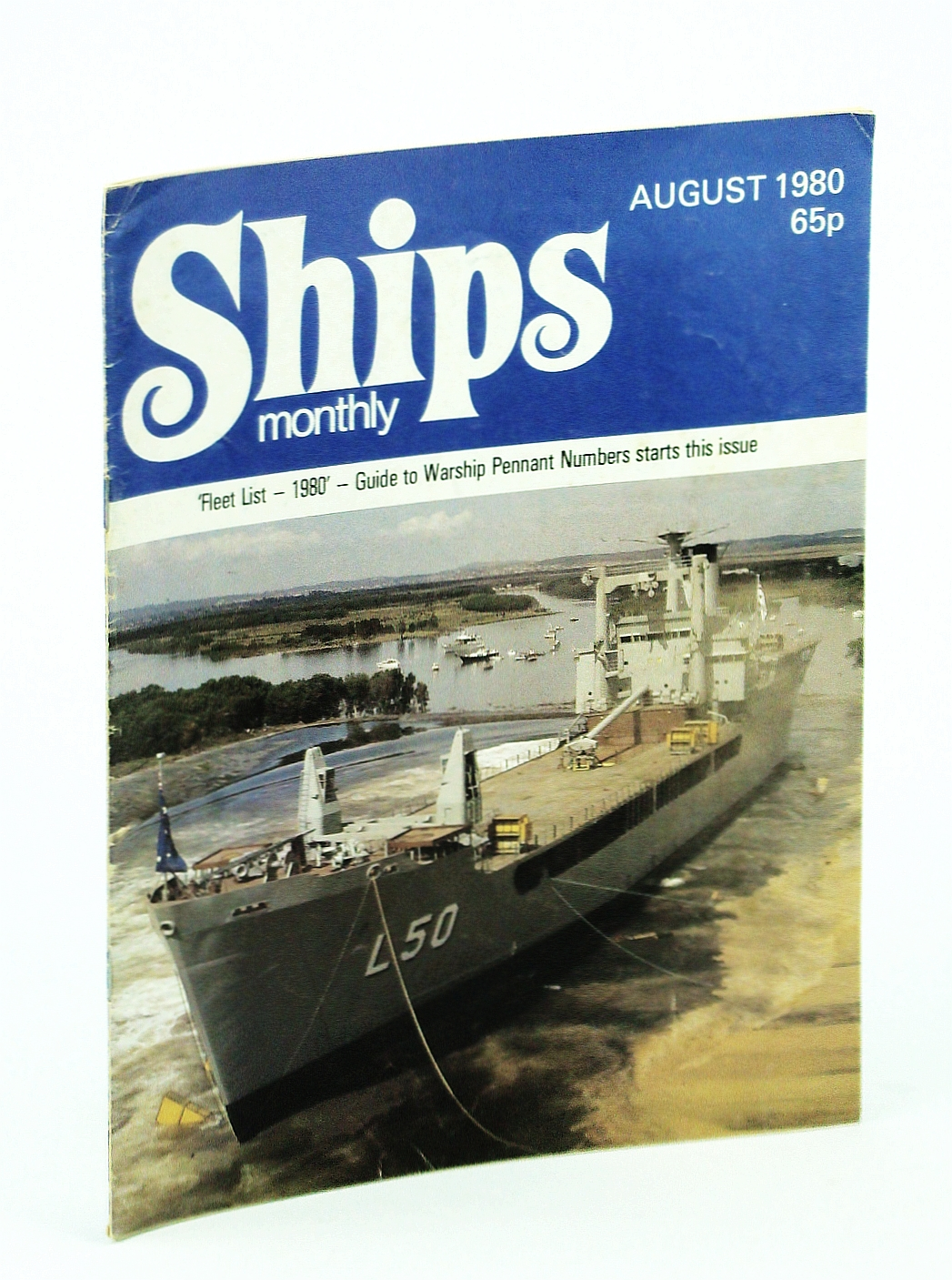 Image for Ships Monthly - The Magazine for Shiplovers Ashore and Afloat, August 1980 - Liberty Ship Wreck!