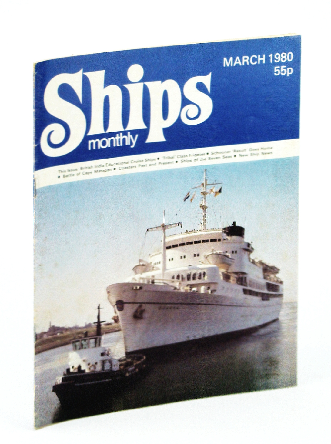 Image for Ships Monthly - The Magazine for Shiplovers Ashore and Afloat, March 1980 - The Battle of Cape Matapan