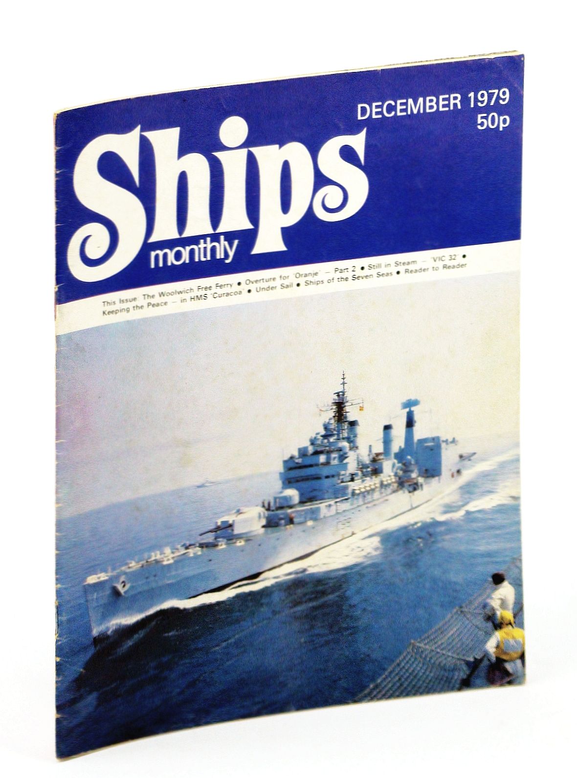 Image for Ships Monthly - The Magazine for Shiplovers Ashore and Afloat, December 1979 - Overture for the 'Oranje' (Part 2)