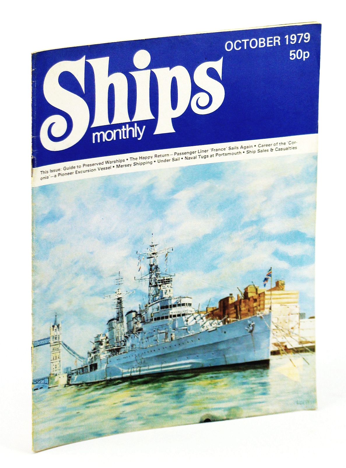 Image for Ships Monthly - The Magazine for Shiplovers Ashore and Afloat, October 1979 - The Career of the 'Coronia'