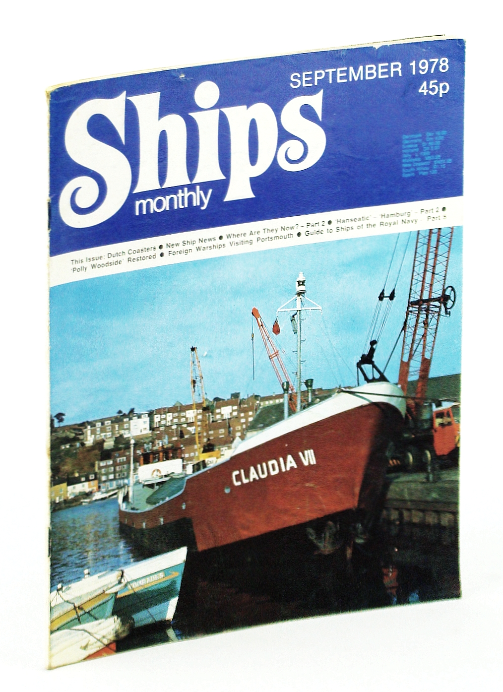 "Image for Ships Monthly - The Magazine For Shiplovers Ashore and Afloat, September 1978: ""Hanseatic"" - ""Hamburg"" (Part 2)"