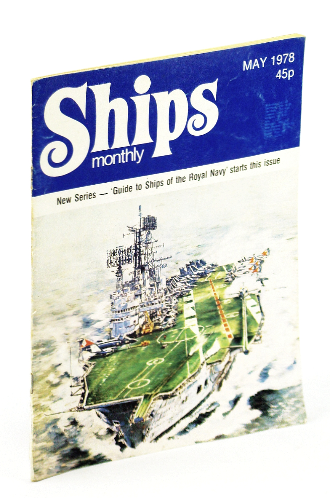 Image for Ships Monthly - The Magazine For Shiplovers Ashore and Afloat, May 1978 - Loss of the 'Herzogin Cecilie'
