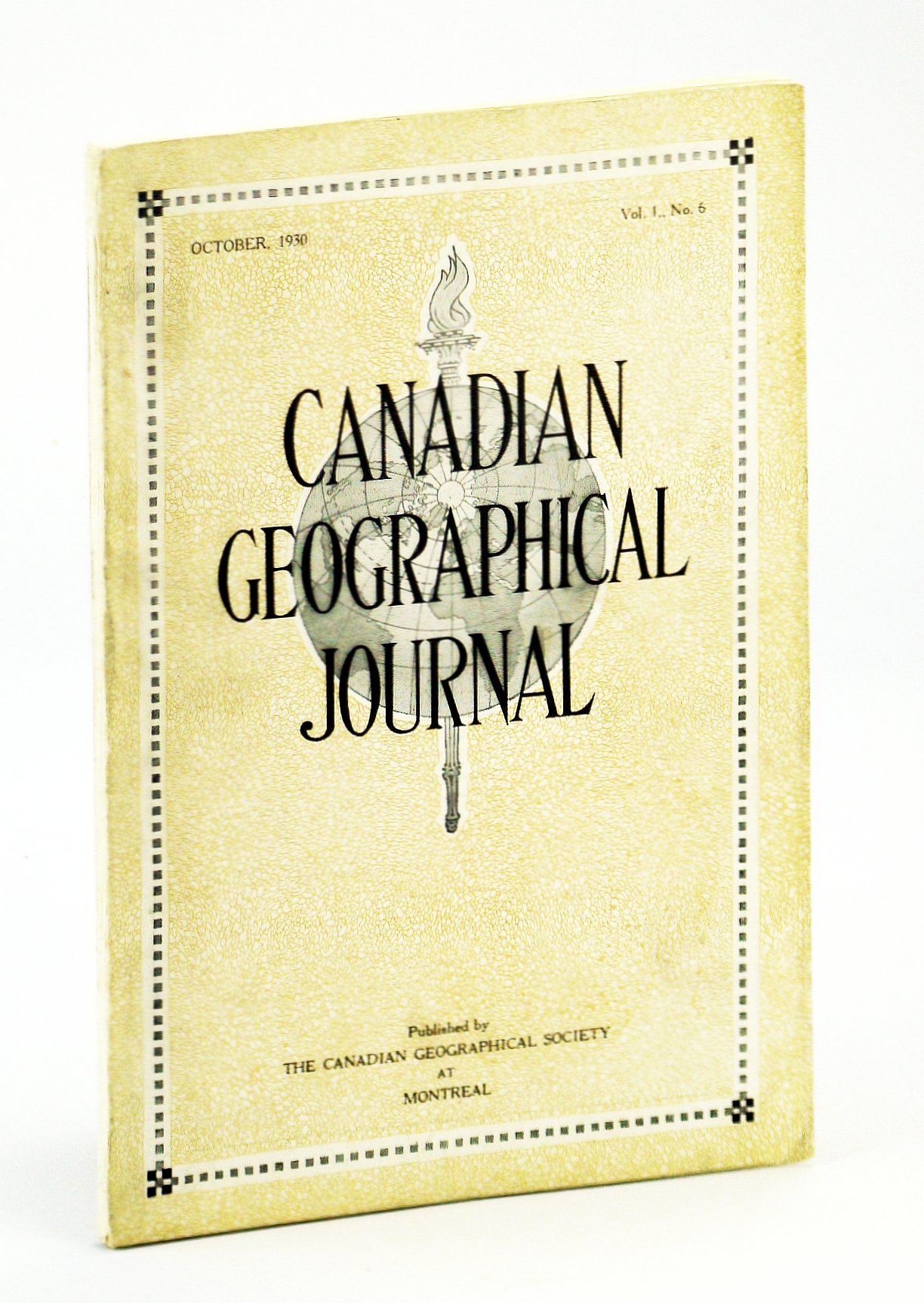 Image for Canadian Geographical Journal, October [Oct.] 1930, Vol. I, No. 6 - The Story of the R-100 Airship