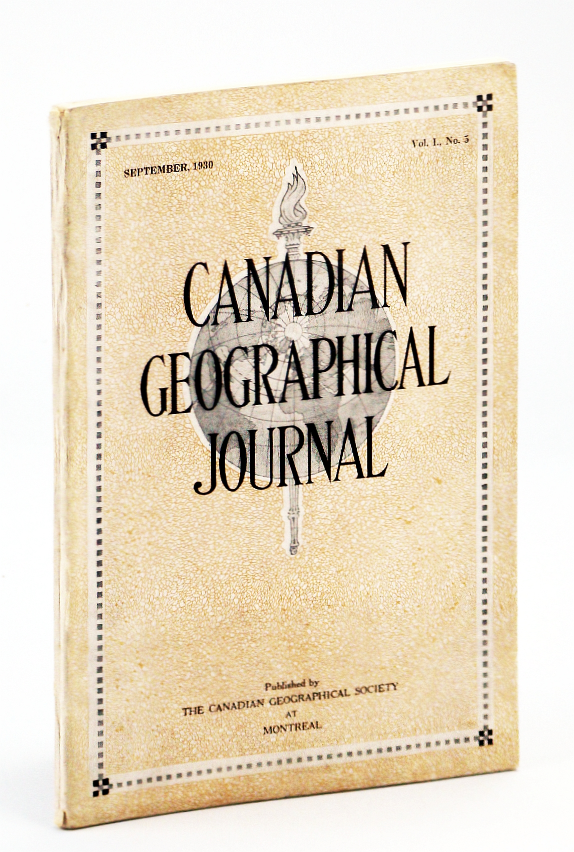 Image for Canadian Geographical Journal, September [Sept.] 1930, Vol. I, No. 5 - Canada's Forest Wealth / Journey to Simla, India