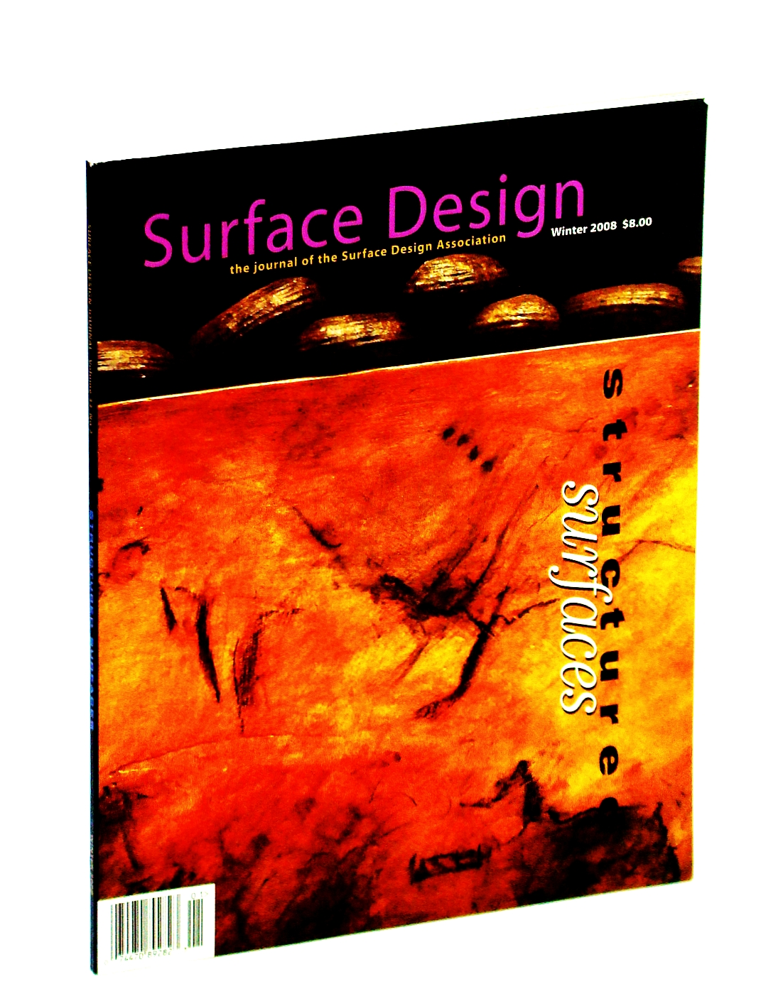 Image for Surface Design Magazine, Winter 2008 - Structured Surfaces