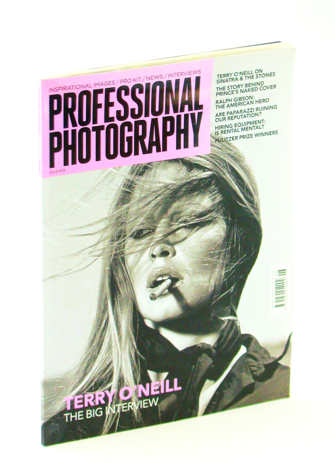 Image for Professional Photography Magazine, June 2016, Issue 9 - Brigitte Bardot Cover Photo