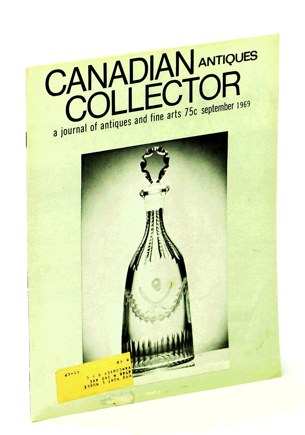 Image for Canadian Antiques Collector - September [Sept.] 1969, Vol. 4, No. 9 - Canadian Artist Mary Wrinch