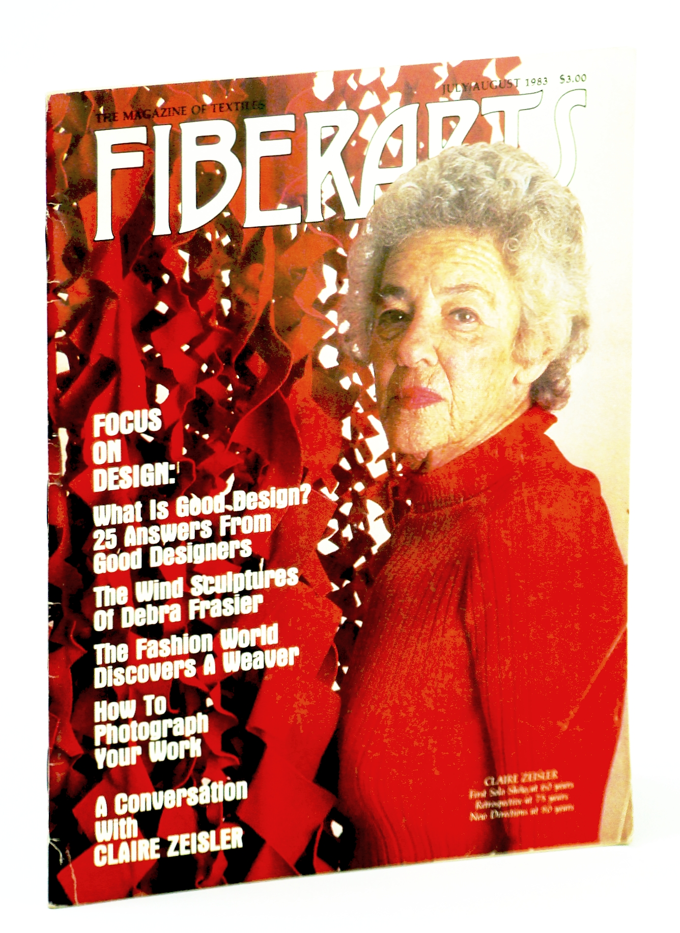 Image for Fiberarts, The Magazine of Textiles, July / August (Aug.)  1983: Claire Zeisler