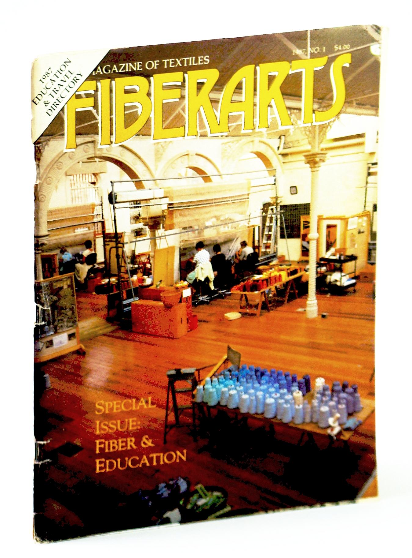 Image for Fiberarts, The Magazine of Textiles, January / February (Jan. / Feb.) 1987: Fiber and Education