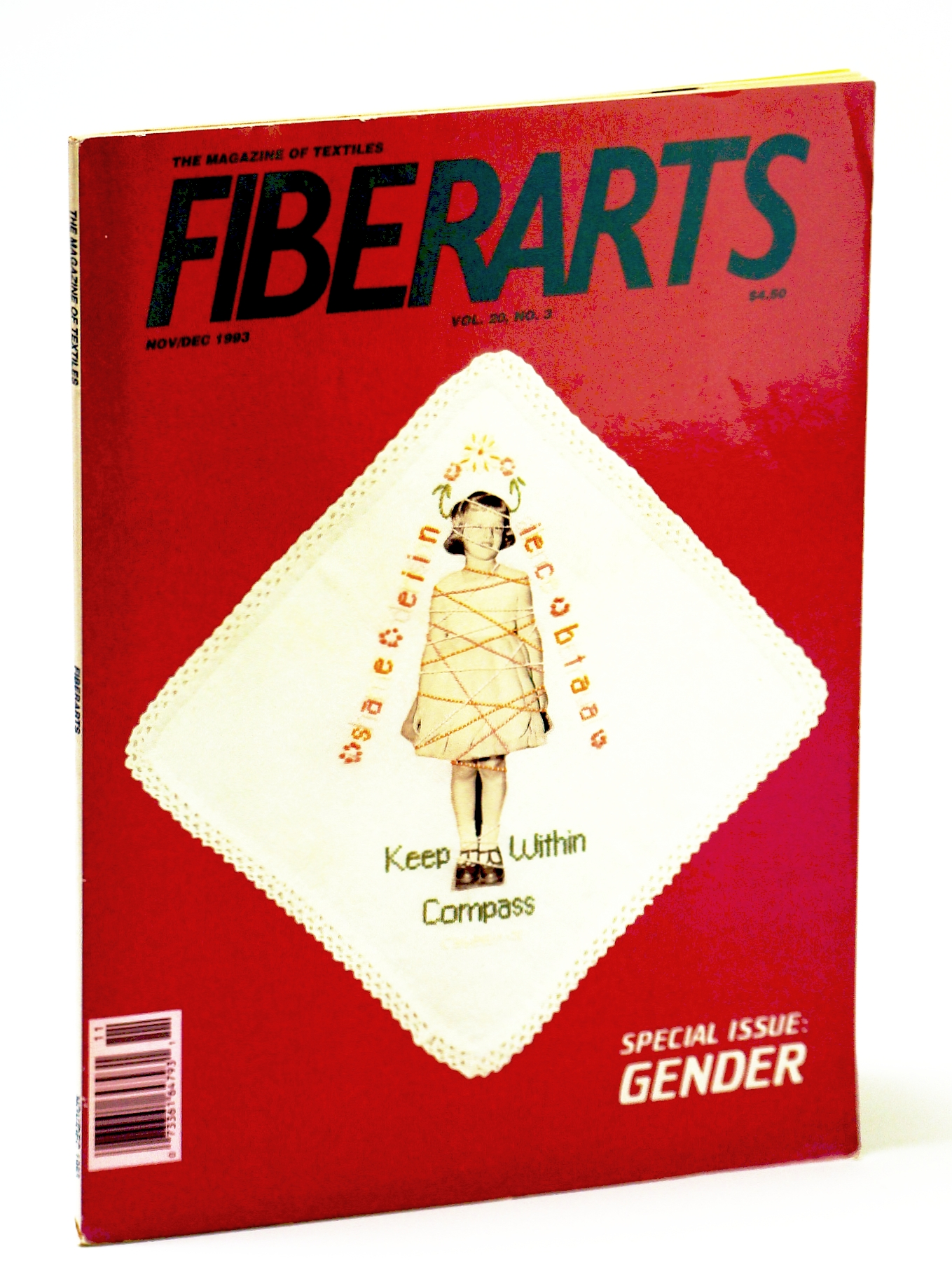 Image for Fiberarts, The Magazine of Textiles, November / December (Nov. / Dec.) 1993: Special Gender Issue