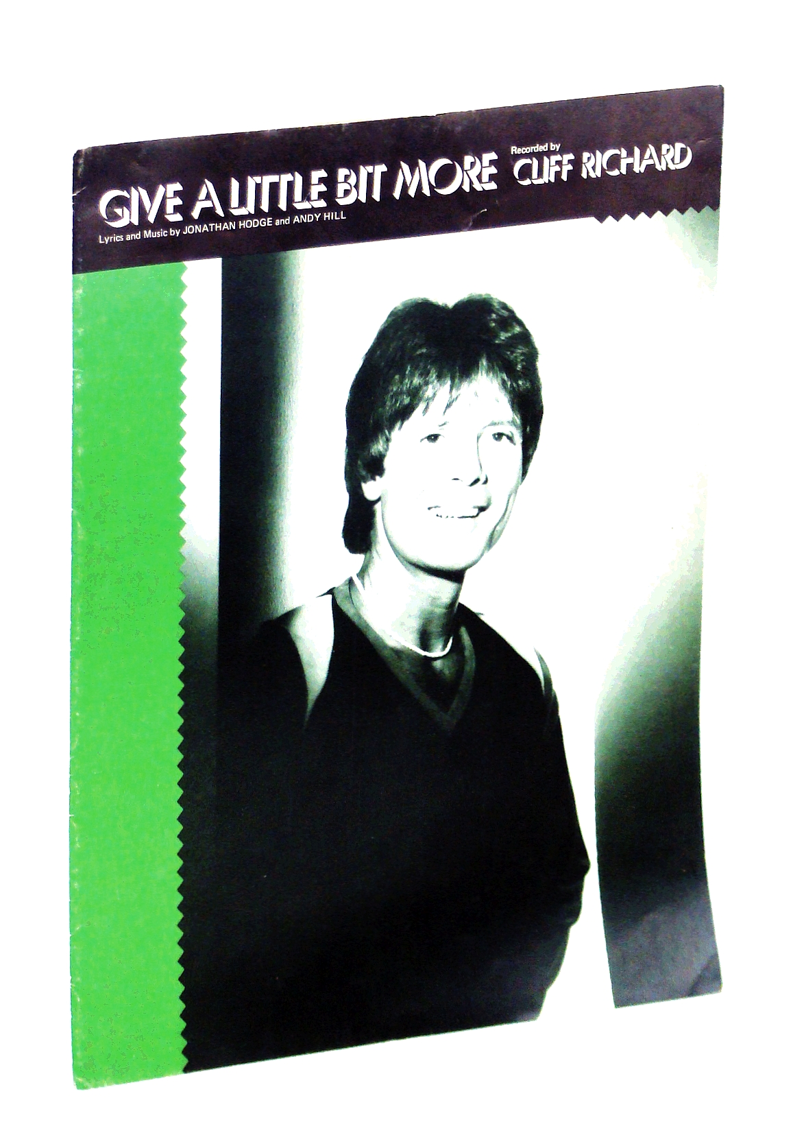 Image for Give a Little Bit More - Recorded By Cliff Richard: Sheet Music for Voice and Piano with Guitar Chords