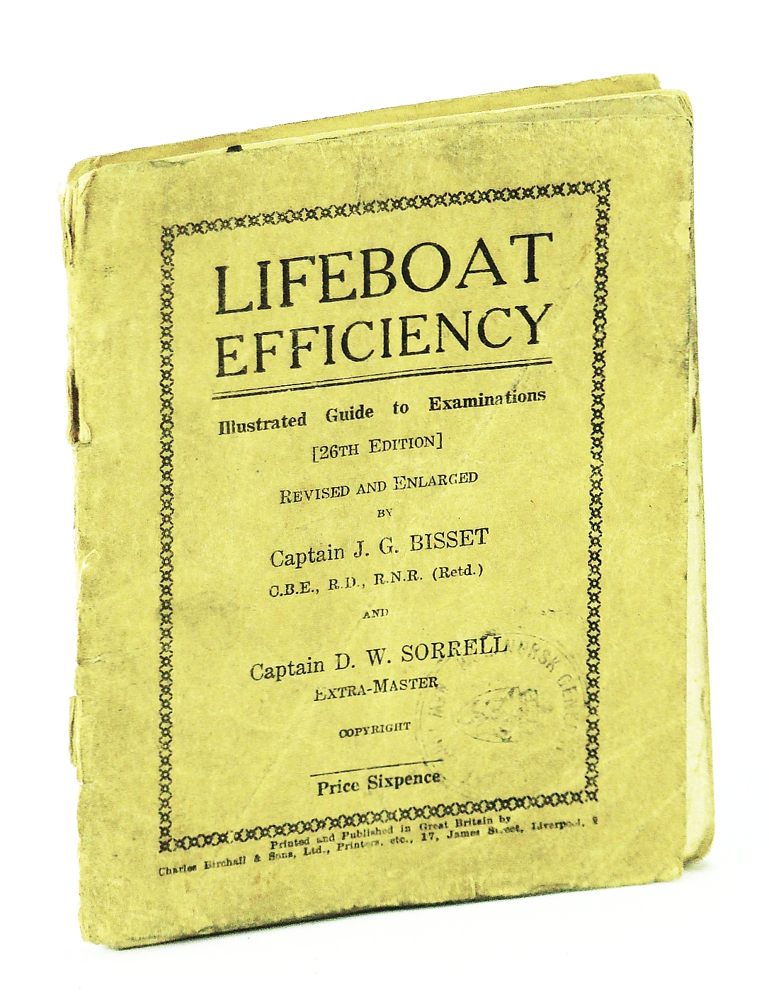 Image for Lifeboat Efficiency - Illustrated Guide to Examinations