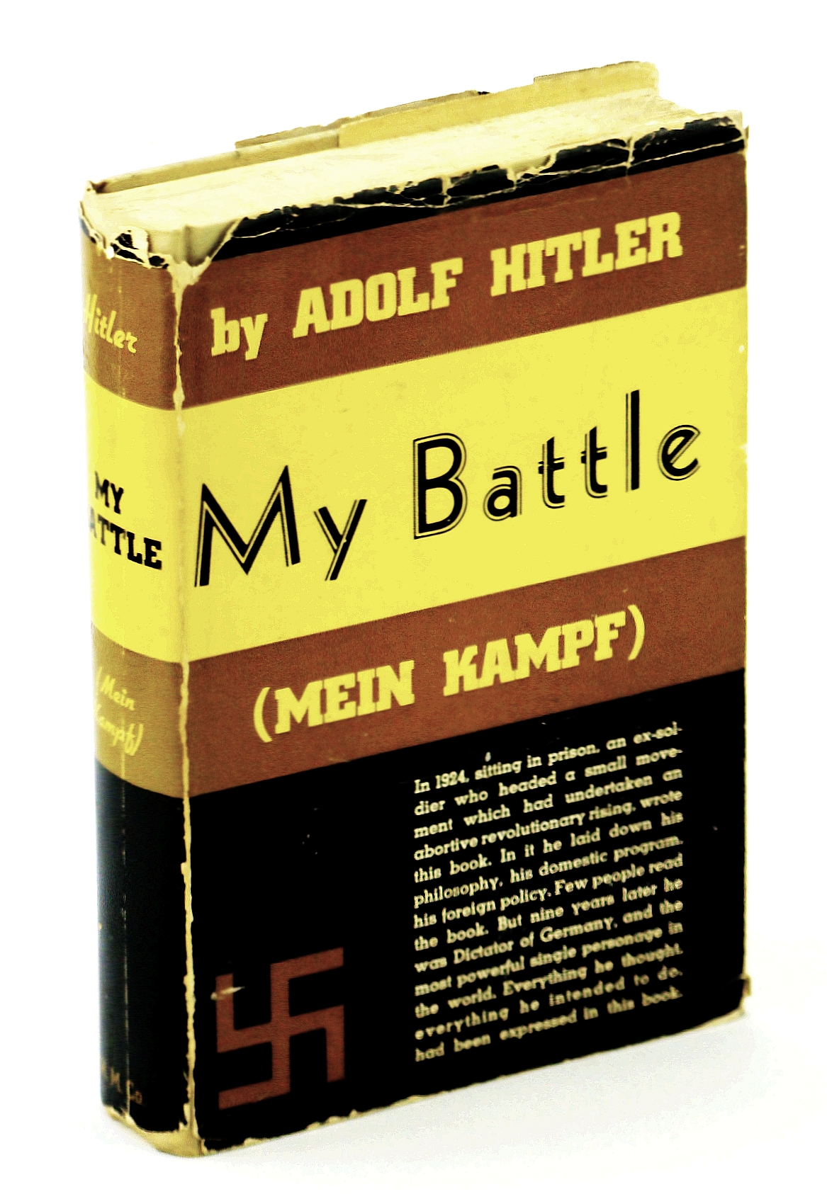 Image for My Battle (Mein Kampf)