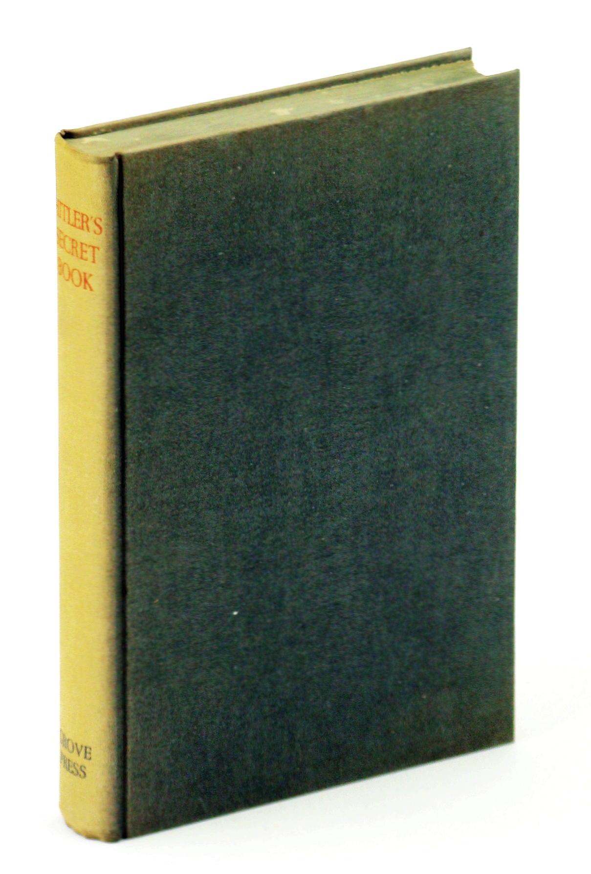 Image for Hitler's Secret Book