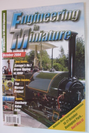 Engineering in Miniature - The Magazine for Model Engineers: October 2004, Multiple Contributors