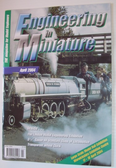 Image for Engineering in Miniature - The Magazine for Model Engineers: April 2004