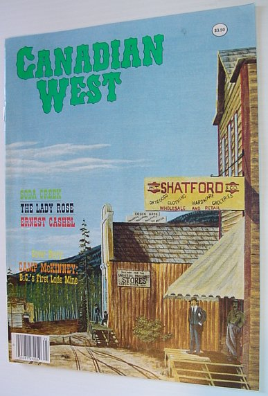 Canadian West Magazine - Fall 1989, Multiple Contributors