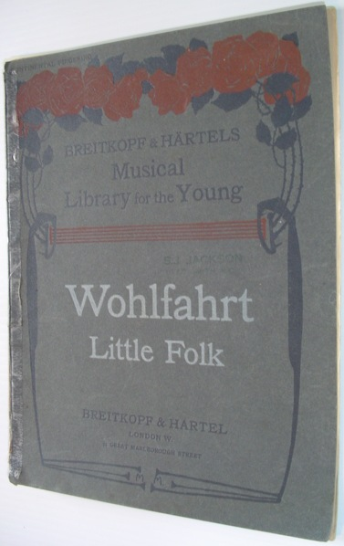 Image for Little Folk: 44 short, Very Easy and Melodious Pianoforte Pieces for Beginners