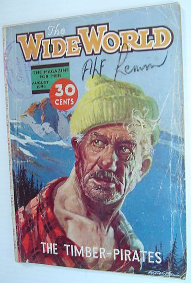 The Wide World Magazine, August 1943, Multiple Contributors
