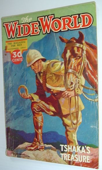 The Wide World Magazine, November 1935, Multiple Contributors