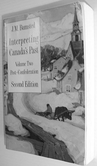 Image for Interpreting Canada's Past: Volume II: Post-Confederation