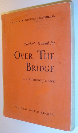 Image for Teacher's Manual for 'Over the Bridge' - The New World Readers